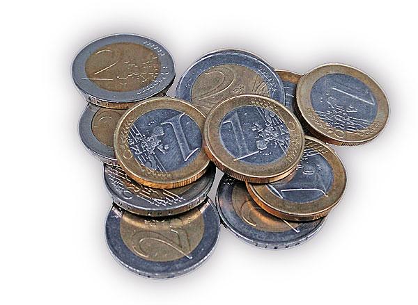 euro muenzen - Altersvorsorge - warum ein früher Einstieg lohnt
